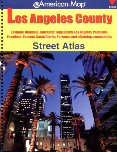 American Map Los Angeles County Street Atlas: Corporation/American Map, Creative Sales