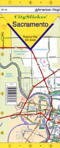 Sacramento, CA City Slicker (Laminated): G.M. Johnson & Associates Ltd