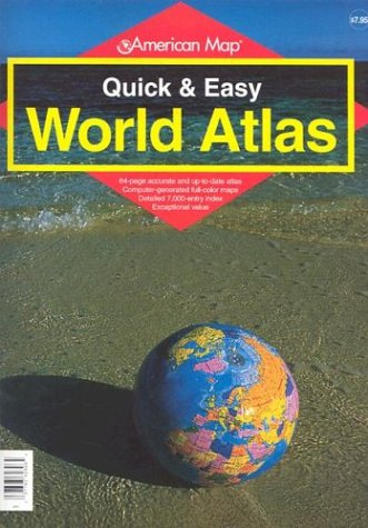 9780841695535: Quick and Easy World Atlas