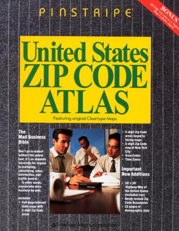 United States Zip Code Atlas (Pinstripe): American Map Corporation
