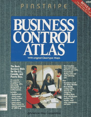9780841697041: Business control atlas: with original Cleartype maps.