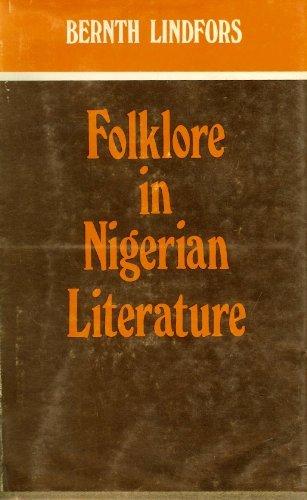 9780841901346: Folklore in Nigerian Literature