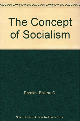 9780841901902: The Concept of Socialism