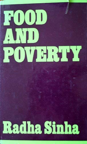 9780841902626: Food and Poverty: The Political Economy of Conformation