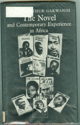 9780841903067: The novel and contemporary experience in Africa