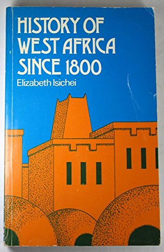9780841903128: History of West Africa Since 1800