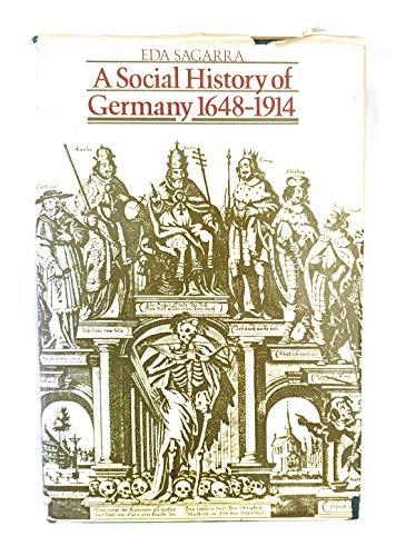 9780841903326: A social history of Germany, 1648-1914