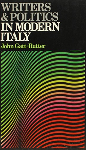 9780841904163: Writers and Politics in Modern Italy (Writers and Politics Series)