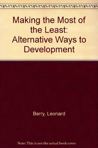 9780841904347: Making the Most of the Least: Alternative Ways to Development