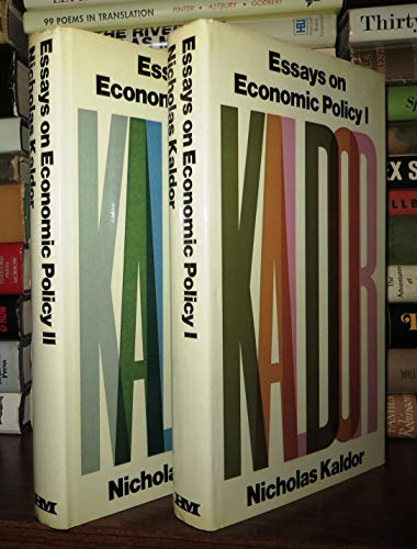 9780841904538: 3: Essays on Economic Policy I (Collected economic essays)