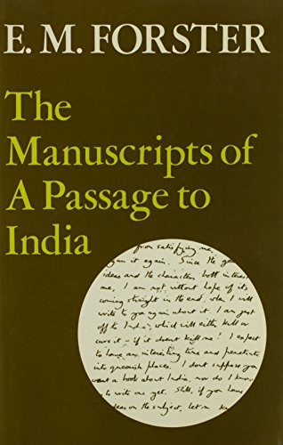 9780841904705: Manuscripts of a Passage to India (The Abinger edition of E. M. Forster ; v. 6a)