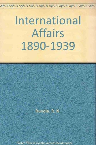9780841905160: International Affairs 1890-1939