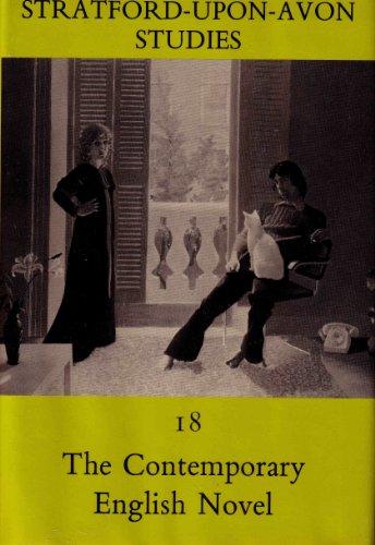 9780841905702: The Contemporary English Novel (Stratford-Upon-Avon Studies)