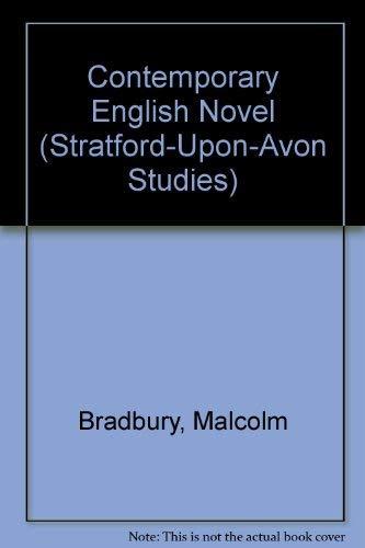 9780841905719: Contemporary English Novel (Stratford-Upon-Avon Studies)