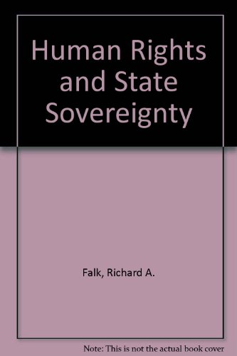 9780841906198: Human Rights and State Sovereignty