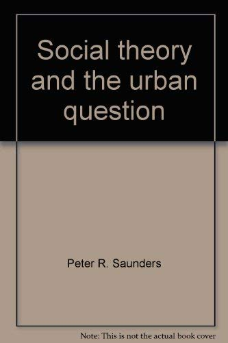 9780841906228: Social theory and the urban question
