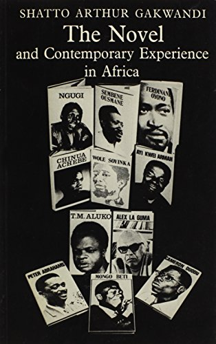 9780841906426: Novel and Contemporary Experience in Africa