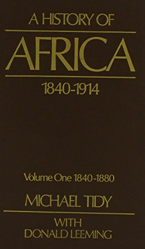 9780841906617: A History of Africa: 1840-1914