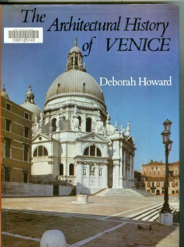 9780841906815: The Architectural History of Venice