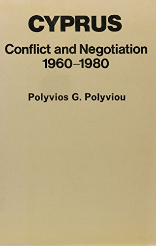 Cyprus Conflict and Negotiation 1960-1980