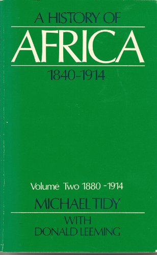 9780841906884: History of Africa 1840 -1914