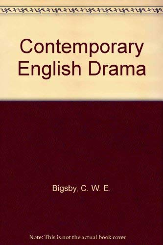 9780841907171: Contemporary English Drama (Stratford-upon-Avon studies)