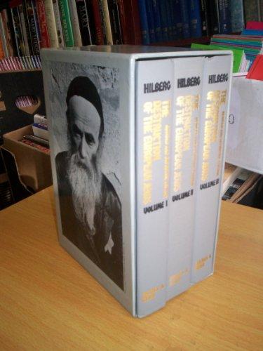 9780841908321: The Destruction of the European Jews: 3 Volume Boxed Set
