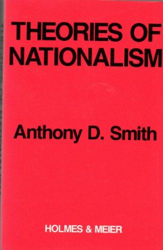 9780841908451: Theories of Nationalism