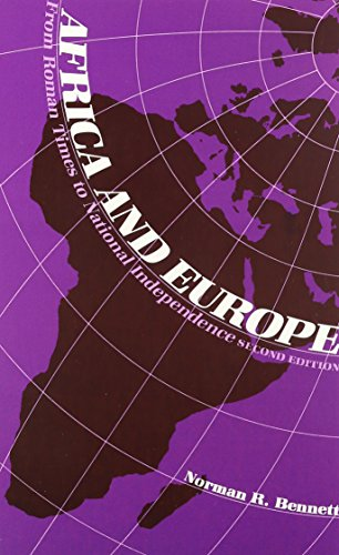 9780841909014: Africa and Europe: From Roman Times to National Independence