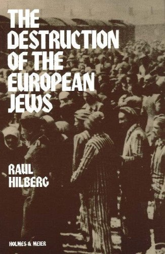 9780841909106: The Destruction of the European Jews (Student One Volume Edition)
