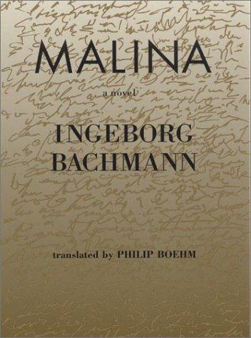 9780841911925: Malina (Modern German Voices Series)