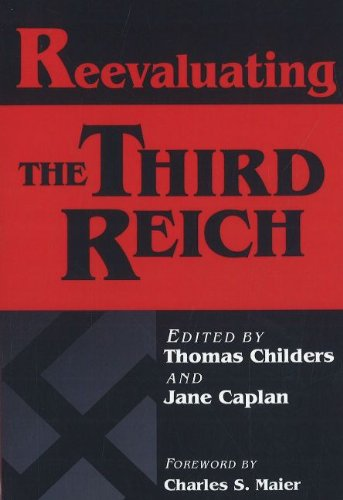 9780841912281: Reevaluating the Third Reich (Europe Past and Present)