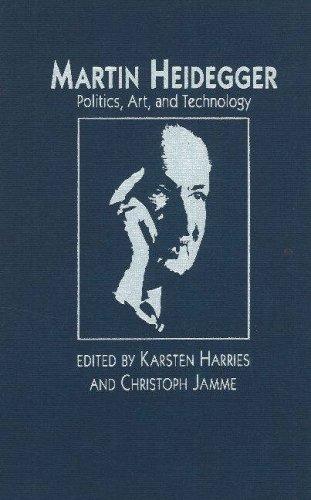 9780841913349: Martin Heidegger: Politics, Art, and Technology