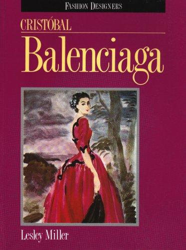 9780841913448: Cristobal Balenciaga (Fashion Designers)