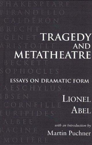 9780841913523: Tragedy and Metatheatre