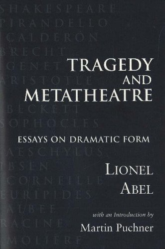 9780841913530: Tragedy and Metatheatre: Essays on Dramatic Form