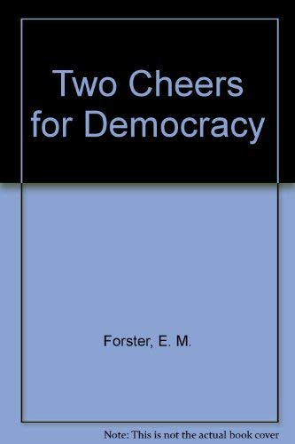 9780841958081: Two Cheers for Democracy