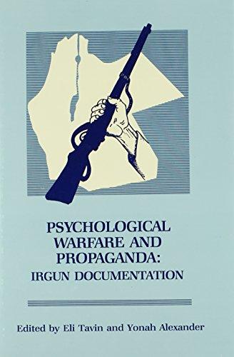 9780842021883: Psychological Warfare and Propaganda: Irgun Documentation