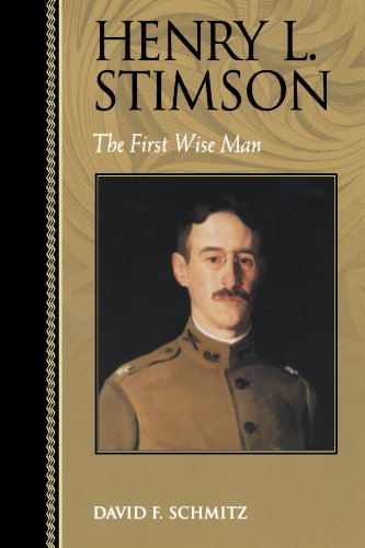 9780842026321: Henry L. Stimson: The First Wise Man (Biographies in American Foreign Policy)