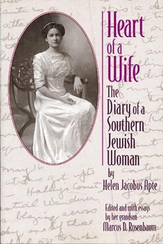 9780842027465: Heart of a Wife: The Diary of a Southern Jewish Woman