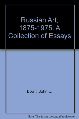 9780842205474: Russian Art, 1875-1975: A Collection of Essays