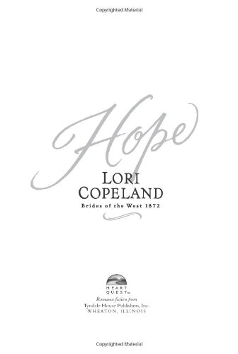9780842302692: Hope (Brides of the West #3) (HeartQuest)