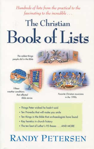 9780842303651: The Christian Book of Lists