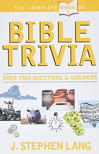 9780842304214: The Complete Book of Bible Trivia