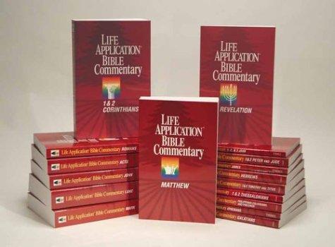 9780842309424: Life Application Bible Commentary New Testament Set (14 Volume Set)