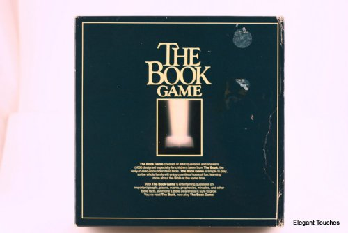 9780842309837: THE BOOK GAME~BIBLE TRIVIA BOARD GAME