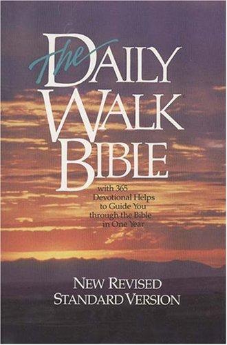 9780842310628: The Daily Walk Bible: NRSV