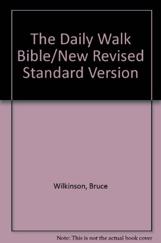 9780842310635: The Daily Walk Bible/New Revised Standard Version