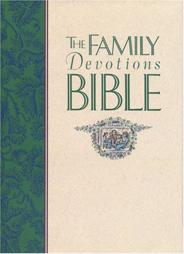 9780842312233: The Family Devotions Bible: The Living Bible