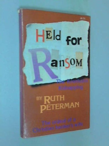 9780842314145: Held for ransom: The Kronholm kidnapping